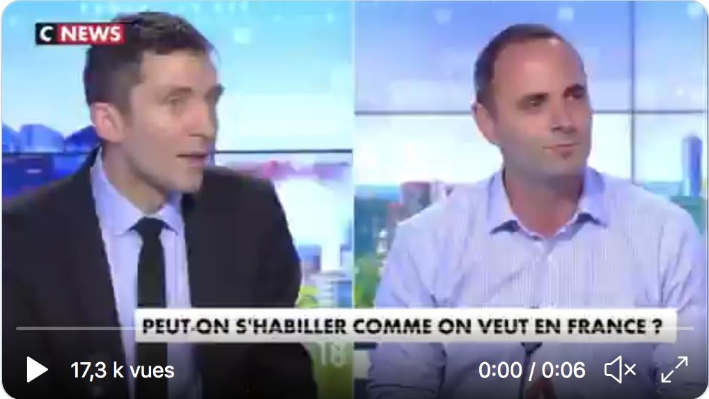 Julien Sanchez (RN) : «Ce n'est pas Jean-Bernard qui pratique le harcèlement de rue» (VIDÉO)