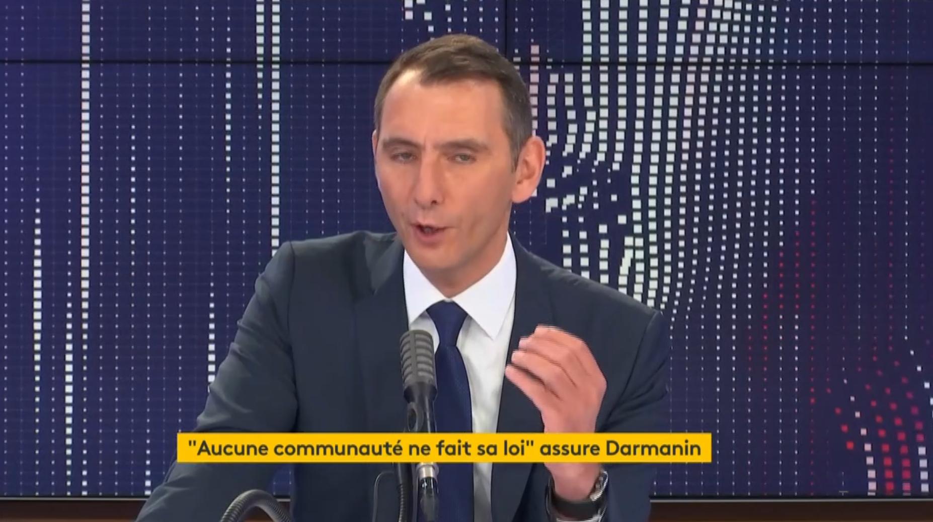 """Laurent Jacobelli (RN) """"(ne croit) pas au Grand Remplacement"""" donc à ce que tous les Français voient au quotidien…"""