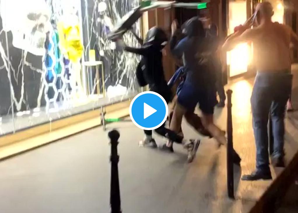 Le compte Twitter d'un syndicat de commissaires de police suspendu pour avoir révélé qu'1/3 des racailles interpellées dimanche soir sur les Champs-Élysées étaient des clandestins mineurs…