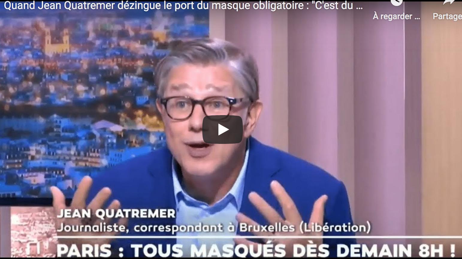 Jean Quatremer attire courageusement notre attention sur la Suède et de nombreux États républicains aux USA : en France, « au bout de trois confinements, on s'aperçoit qu'on a toujours pas maîtrisé la diffusion du virus (…) Il y a un moment où il faut peut-être en tirer des conclusions » (VIDÉO)