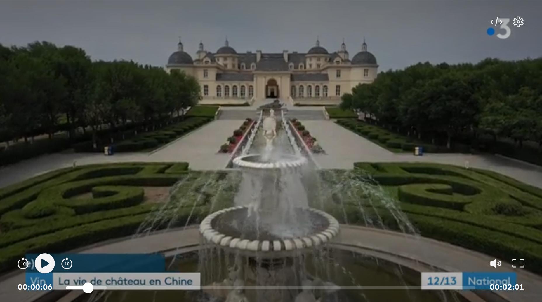 Chine : la vie de château du domaine viticole de Changyu (REPORTAGE)