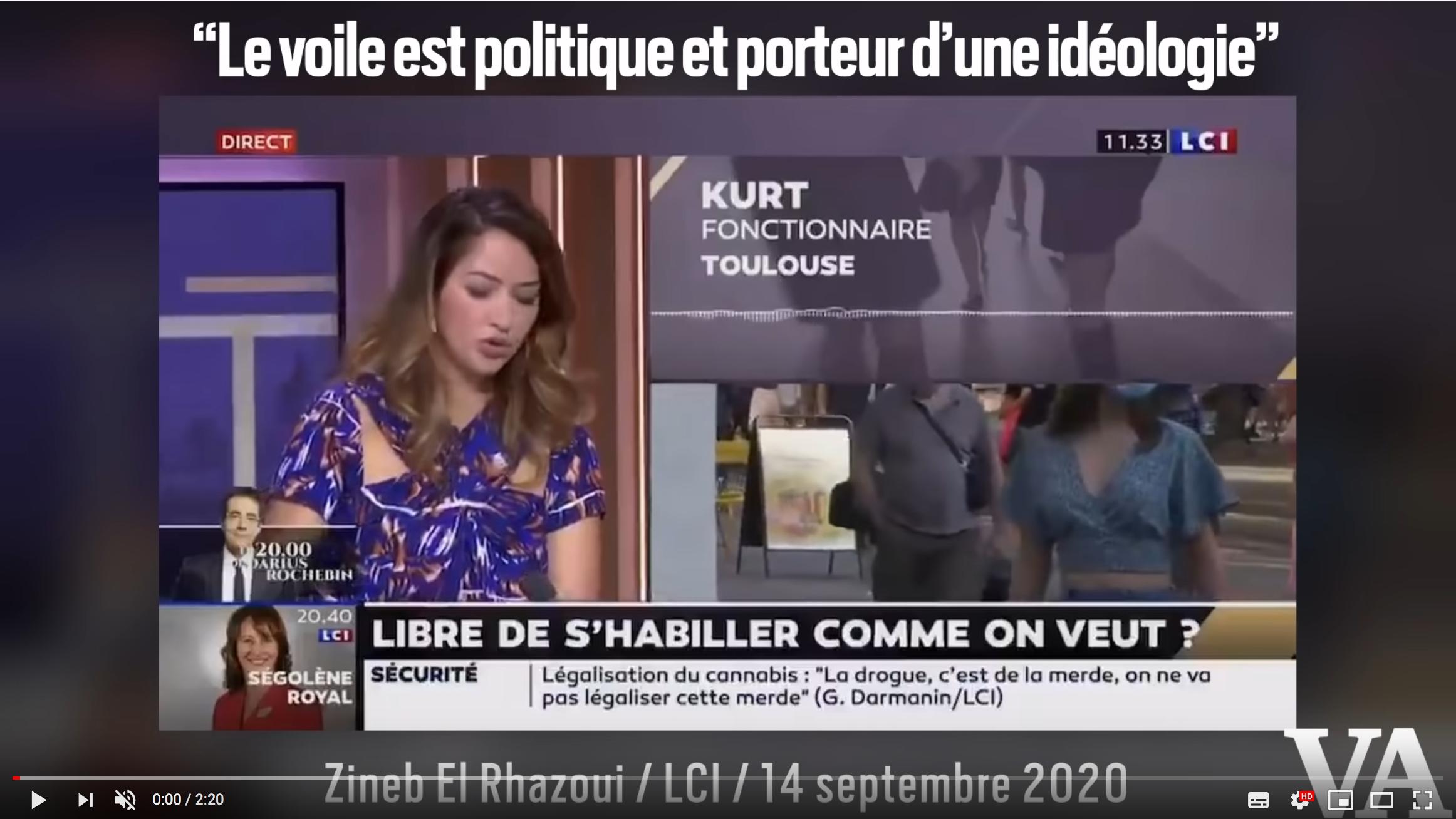 «Le voile est politique et porteur d'une idéologie» : Zineb El Rhazoui réagit à l'affaire Imane / BFMTV (VIDÉO)