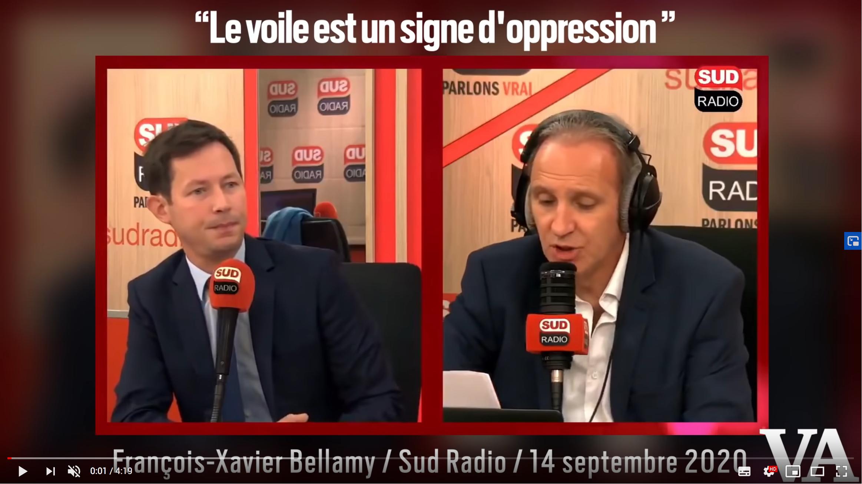 François-Xavier Bellamy prend la défense de Judith Waintraub après les menaces de mort contre la journaliste (VIDÉO)
