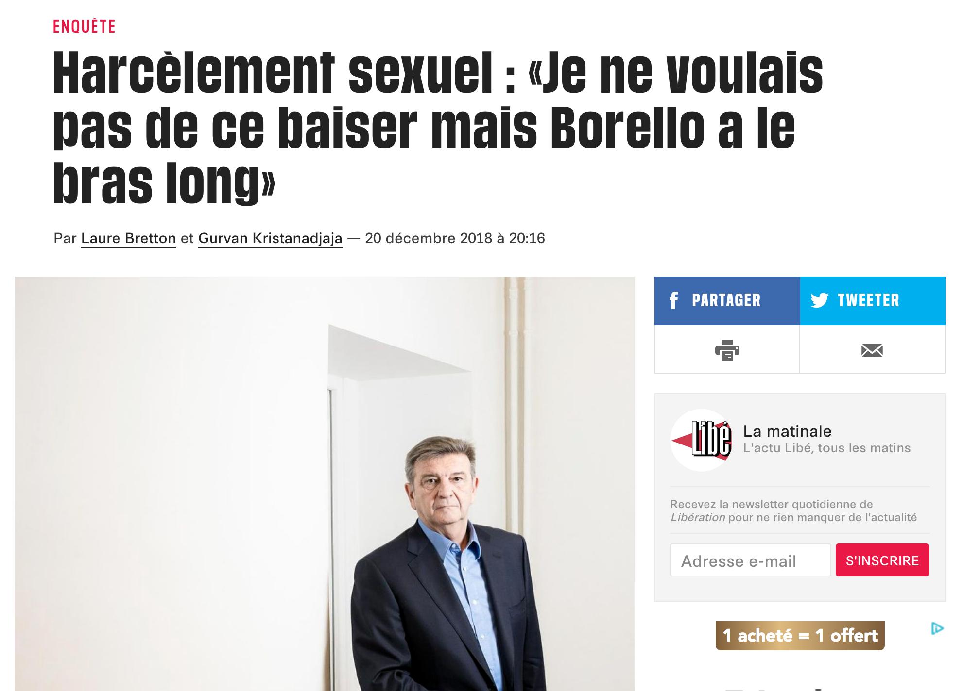 L'homme le plus puissant de la Macronie est un homosexuel militant accusé de harcèlement sexuel