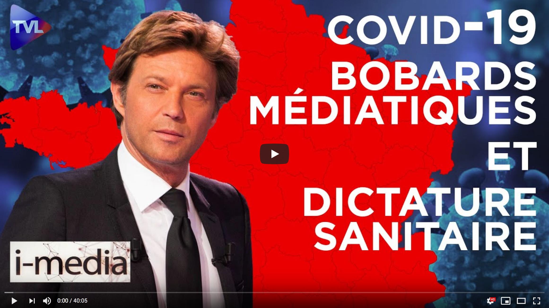 I-Média n°315 – Des bobards médiatiques au service de la dictature sanitaire ?