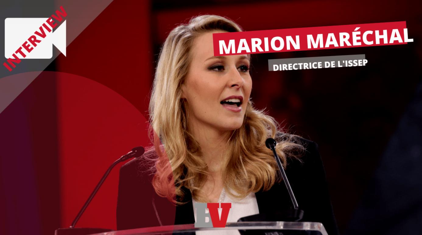 Entretien avec Marion Maréchal : Cap, 2022 et avenir de la droite (ENTRETIEN)