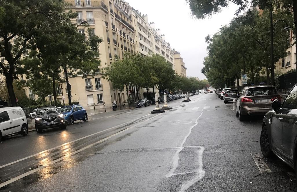 Paris, ville morte