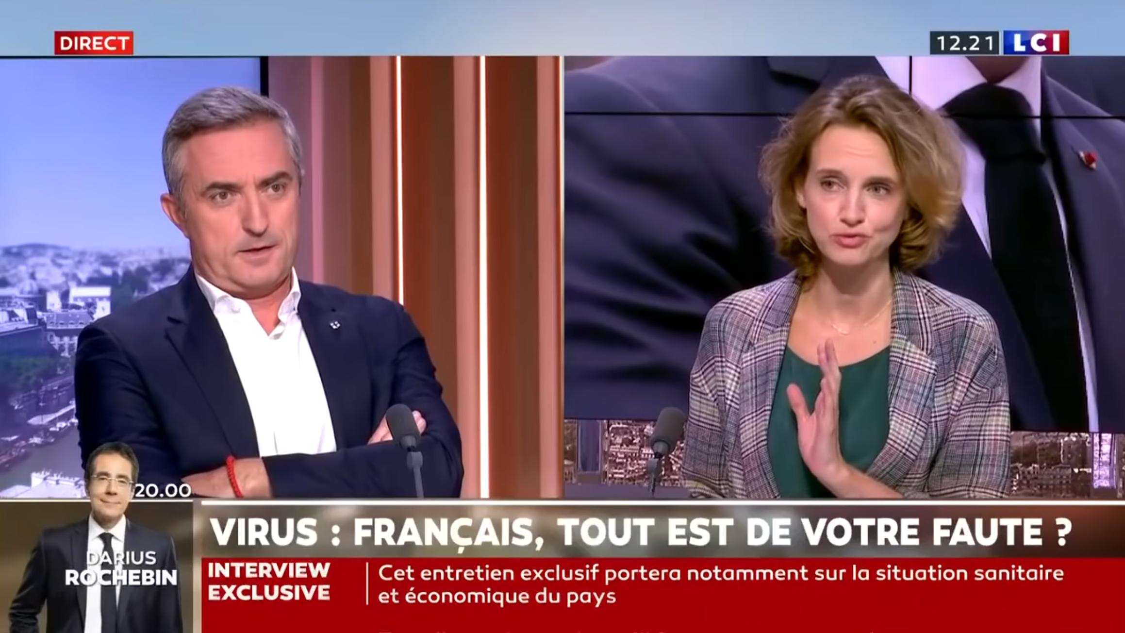 Gestion de la pandémie : Stéphane Ravier (RN) VS Céline Calvez (LREM) (DÉBAT)