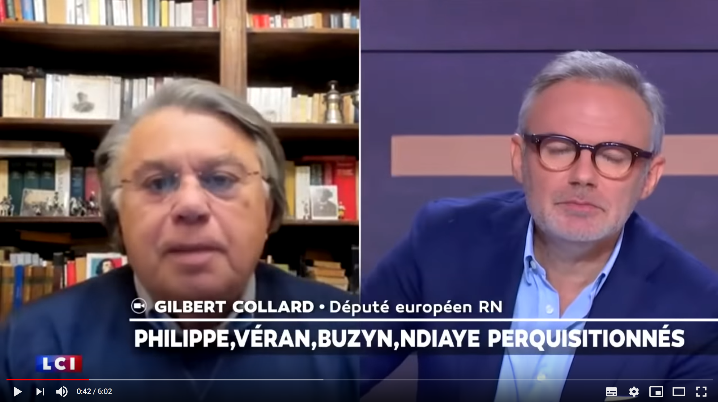 """Me Gilbert Collard s'exprime sur les perquisitions chez Olivier Véran et Jérôme Salomon : """"La justice se rappelle aux bons souvenirs du pouvoir"""" (VIDÉO)"""