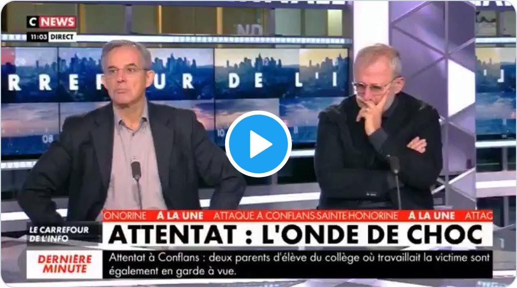 """Thierry Mariani : """"Le lien entre terrorisme et immigration est évident"""" (VIDÉO)"""