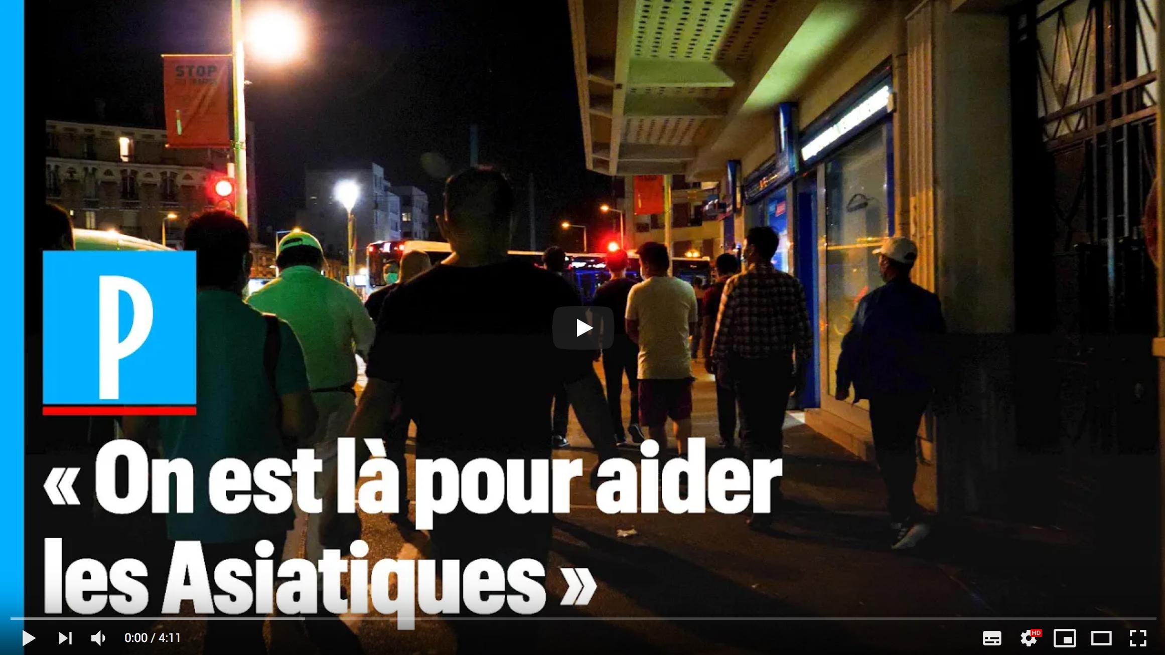 À La Courneuve, la communauté chinoise « patrouille pour sa sécurité » face à la racaille (VIDÉO)