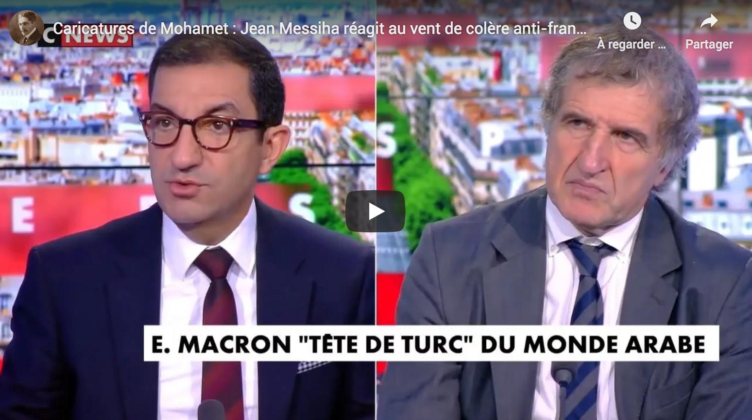 Caricatures de Mohamet : Jean Messiha réagit au vent de colère anti-français dans le monde musulman (VIDÉO)