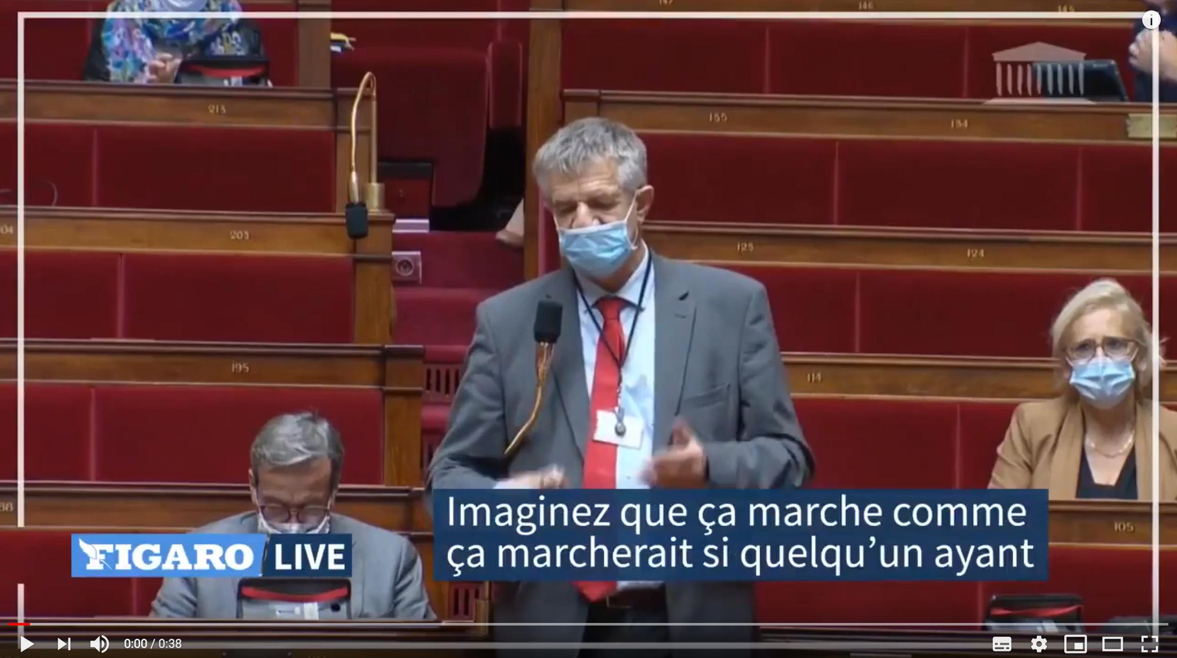 Jean Lassalle dézingue un député LREM et Emmanuel Macron à l'Assemblée nationale (VIDÉO)