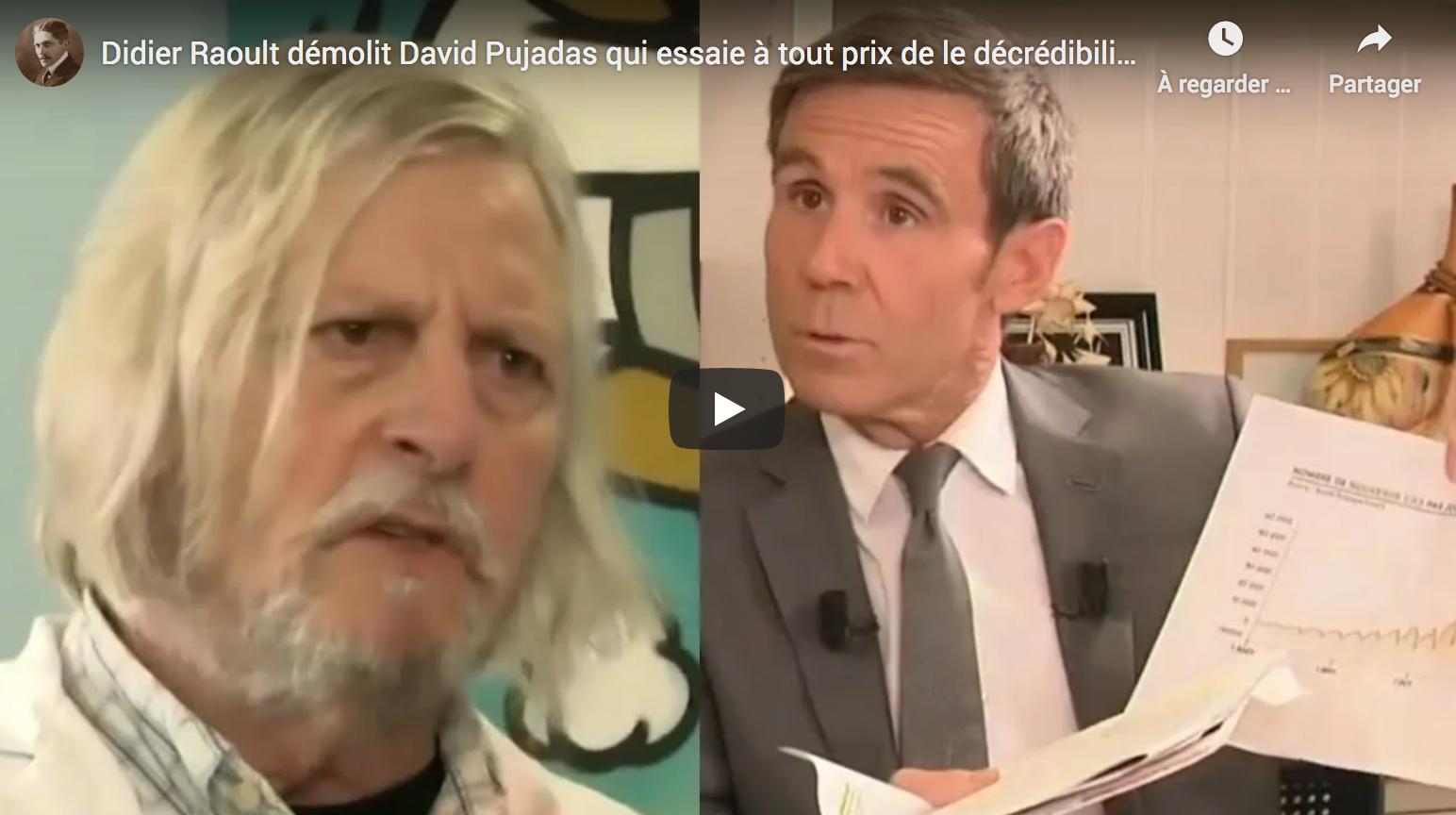 Didier Raoult démolit David Pujadas qui essaie à tout prix de le décrédibiliser (Entretien intégral)