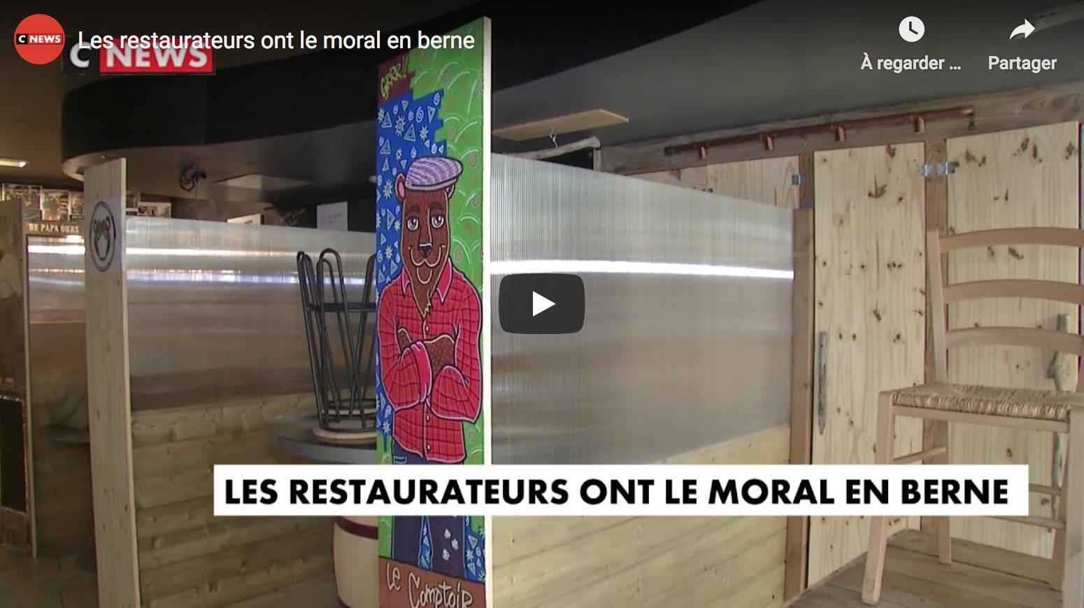 Les restaurateurs ont le moral en berne