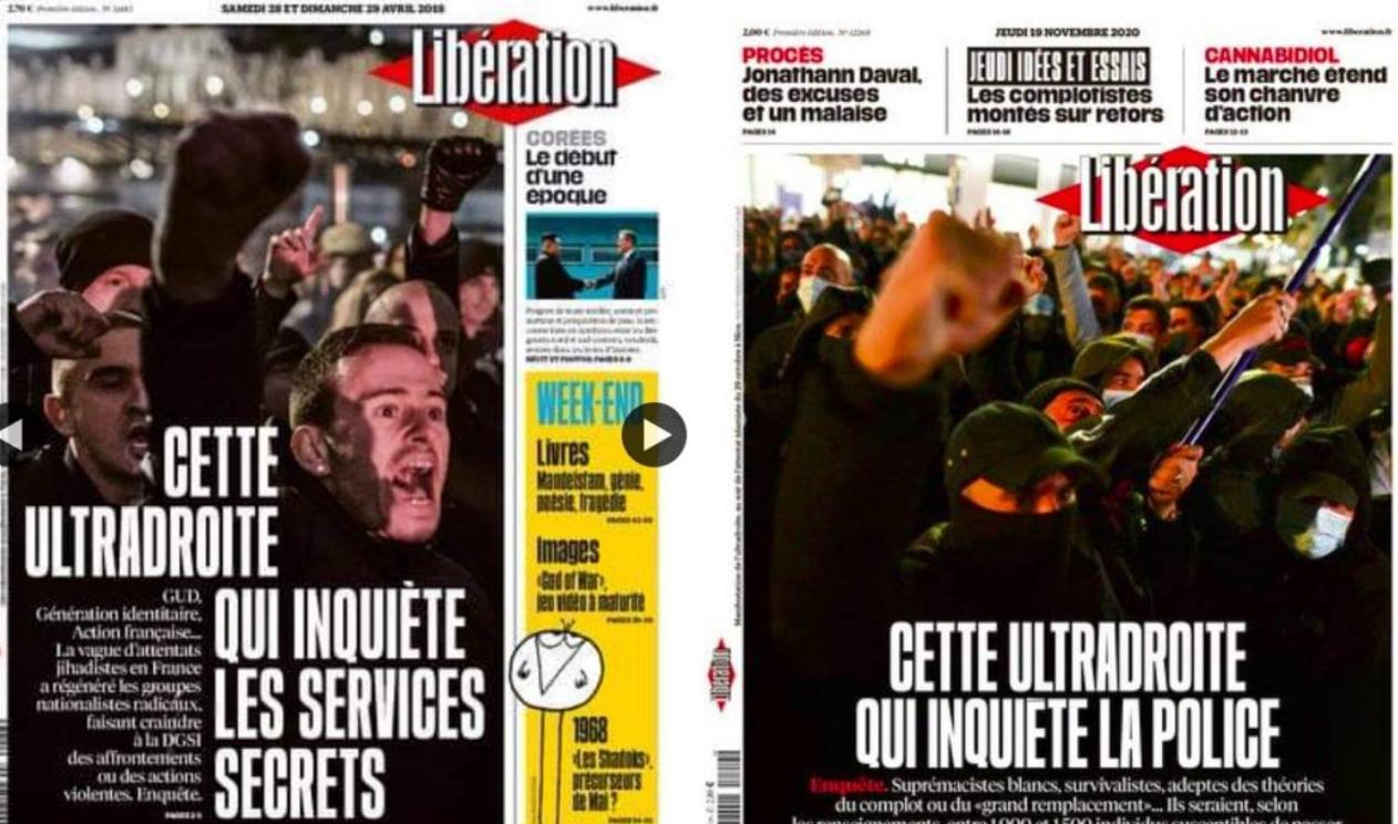 """""""Libé"""" invente une menace """"d'extrême droite"""" pour détourner l'attention des Français de la menace islamiste"""