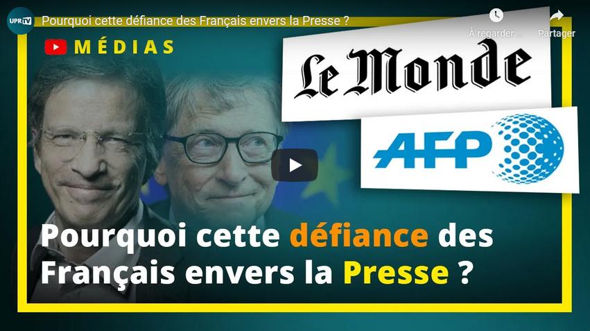 Pourquoi cette défiance des Français envers la presse ? (François Asselineau)