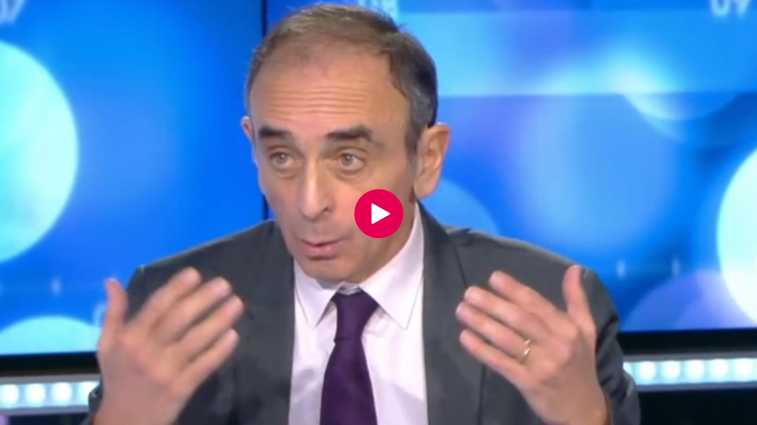 """François, auditeur de RMC à propos d'une candidature Éric Zemmour : """"C'est sûr, il dérange"""" (VIDÉO)"""