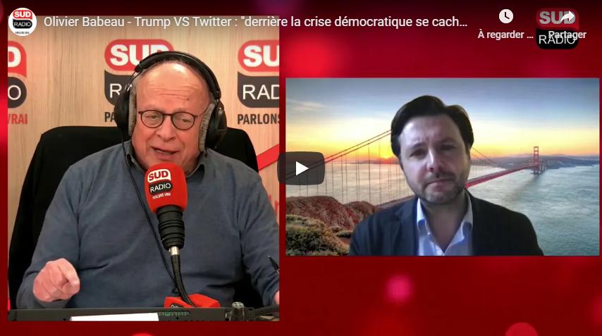 """Trump VS Twitter : """"derrière la crise démocratique se cache une autre crise…"""" (Olivier Babeau)"""