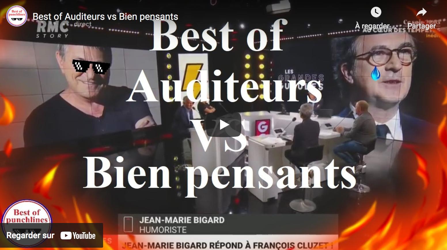 Best of Auditeurs vs bien-pensants (VIDÉO)