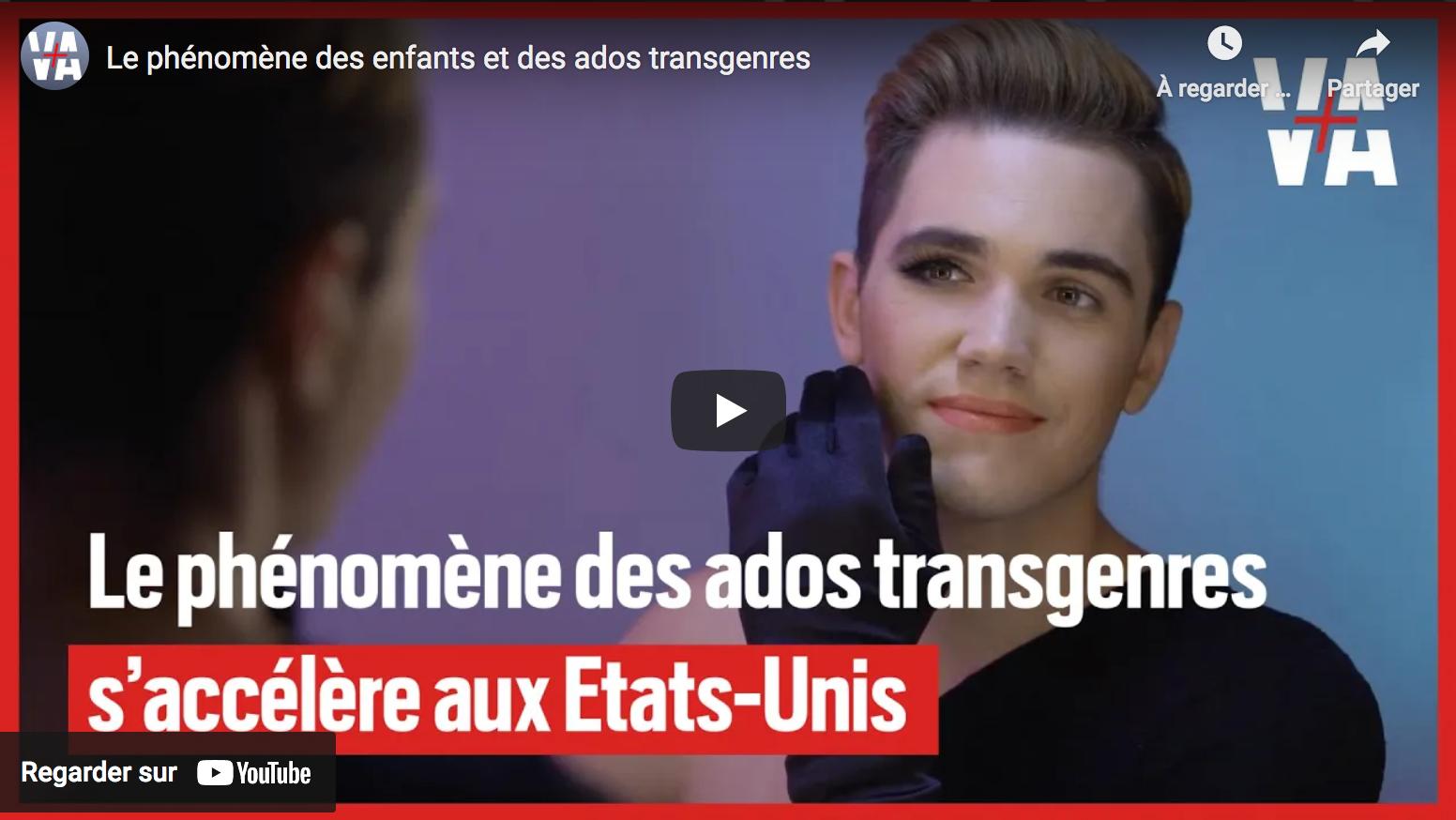États-Unis : l'inquiétant phénomène des enfants et des ados transsexuels