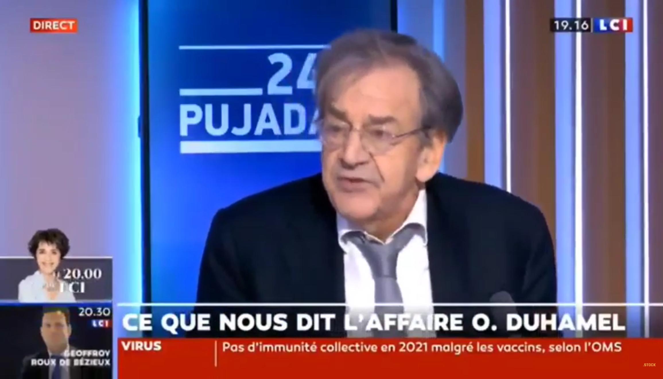 Olivier Duhamel accusé d'inceste : les propos dérangeants d'Alain Finkielkraut (VIDÉO)