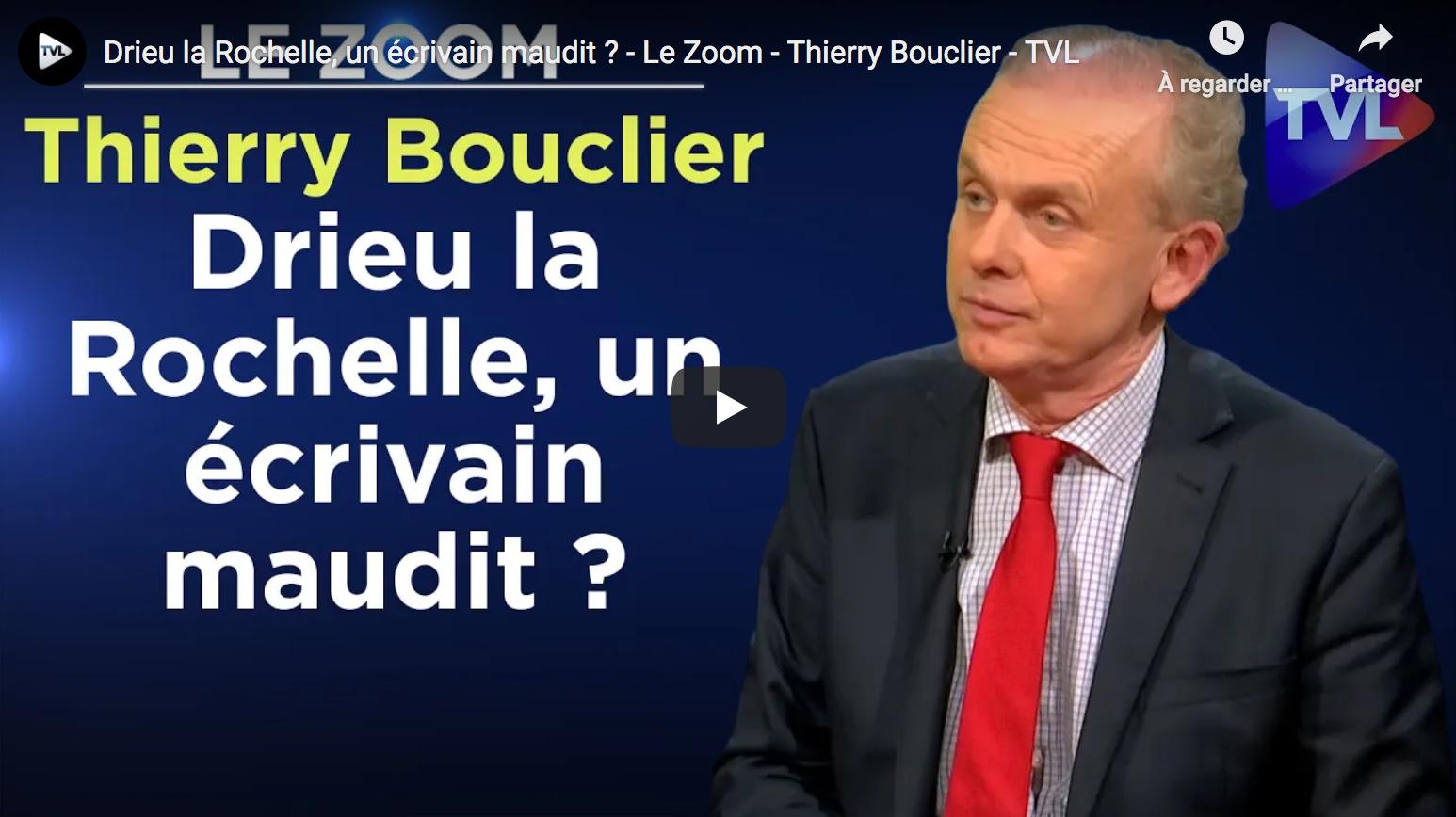 Drieu la Rochelle, un écrivain maudit ? (Thierry Bouclier)