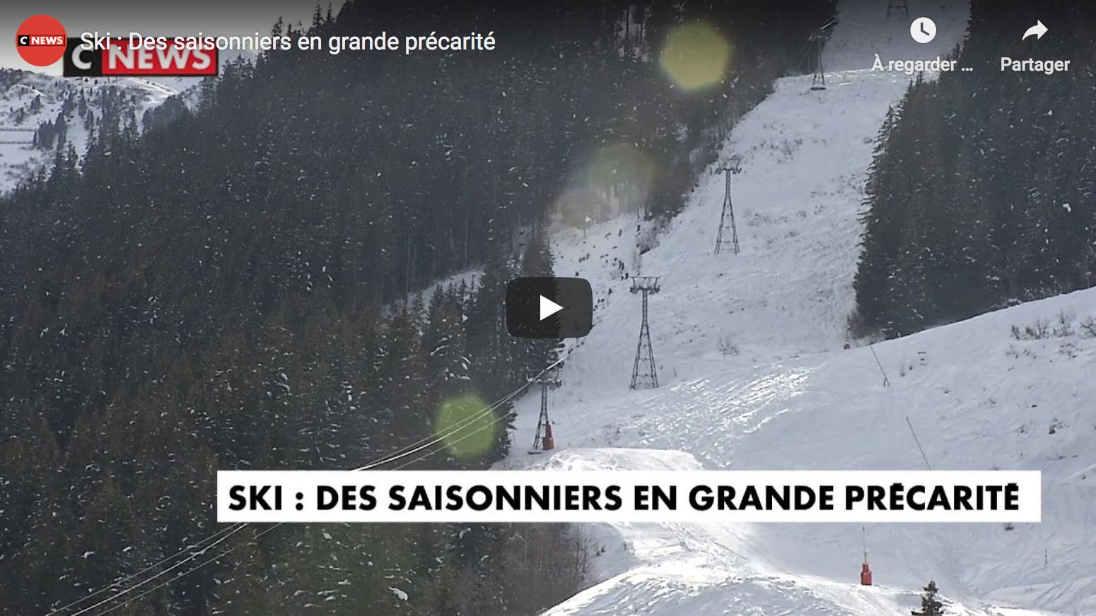 Ski : Des saisonniers en grande précarité