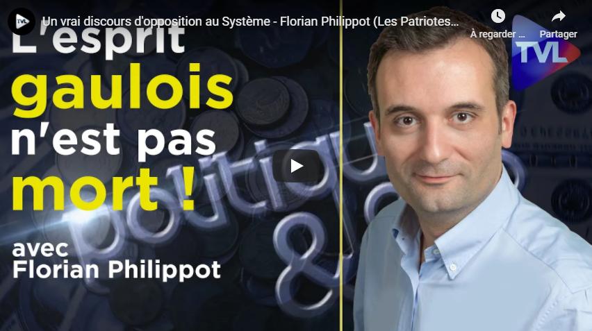 Un vrai discours d'opposition au Système : rencontre avec Florian Philippot (Les Patriotes)