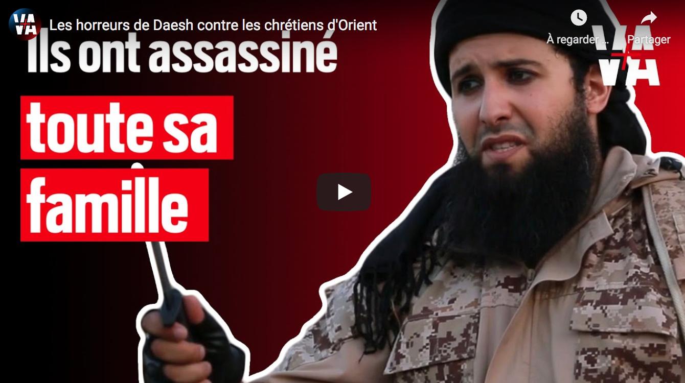 Les horreurs de Daesh contre les chrétiens d'Orient