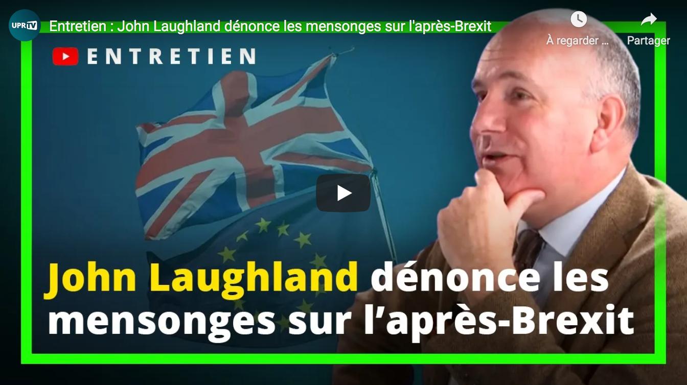 John Laughland dénonce les mensonges sur l'après-Brexit (ENTRETIEN avec François Asselineau)