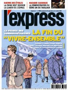L'Express annonce la fin du vivre ensemble