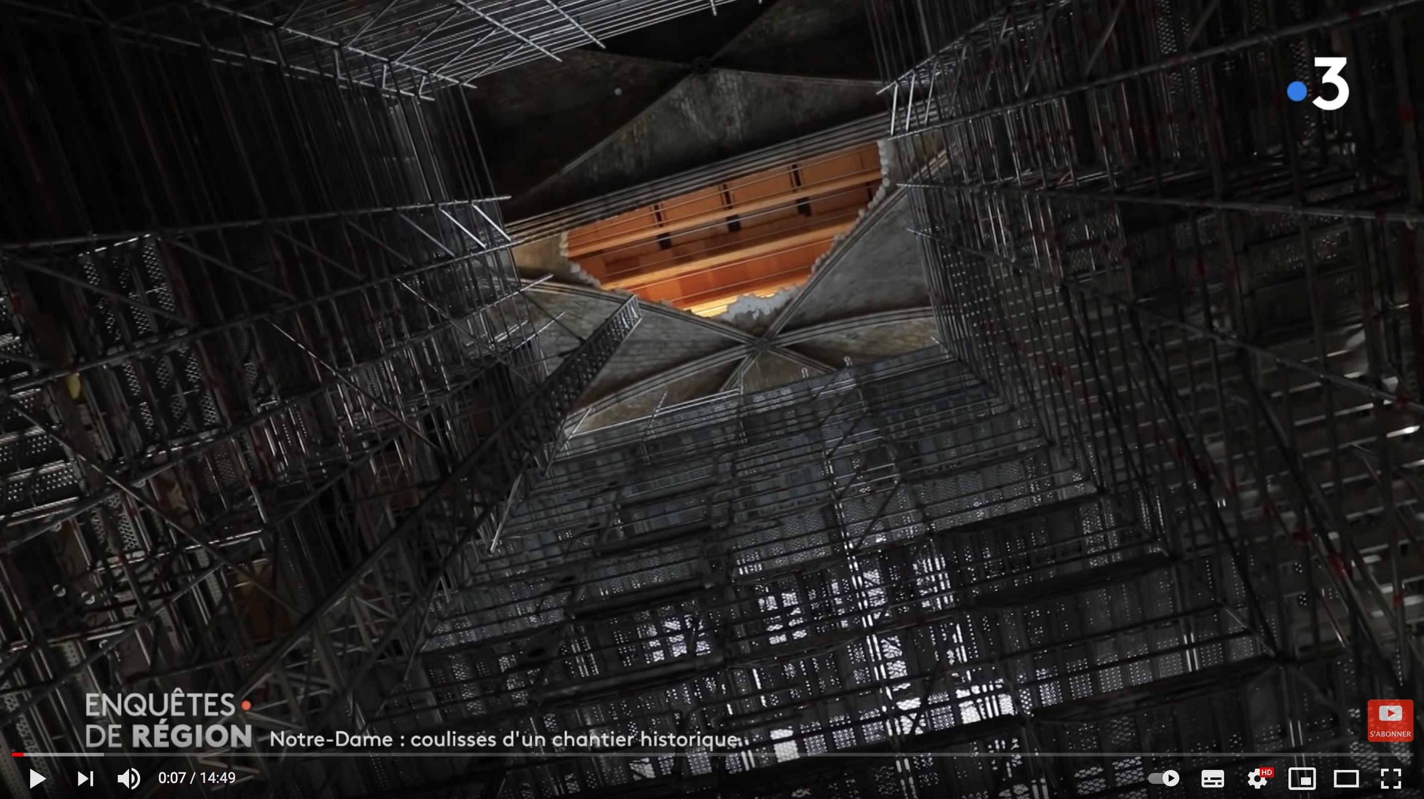 Notre-Dame de Paris, les coulisses d'un chantier historique (REPORTAGE)