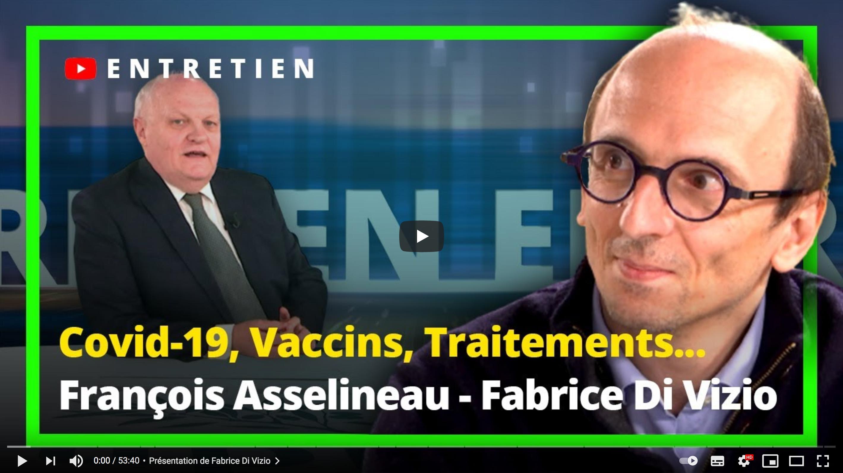François Asselineau rencontre Fabrice Di Vizio (ENTRETIEN)