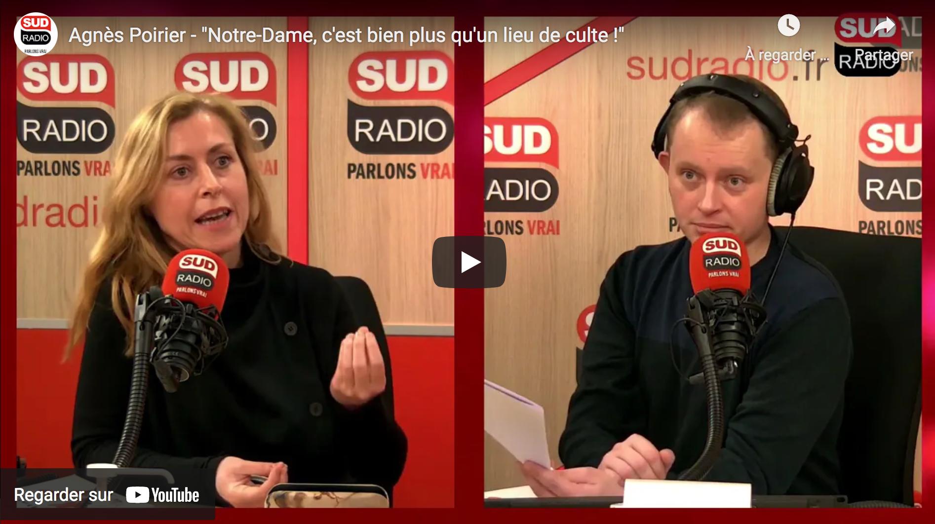 """Agnès Poirier : """"Notre-Dame, c'est bien plus qu'un lieu de culte !"""" (VIDÉO)"""