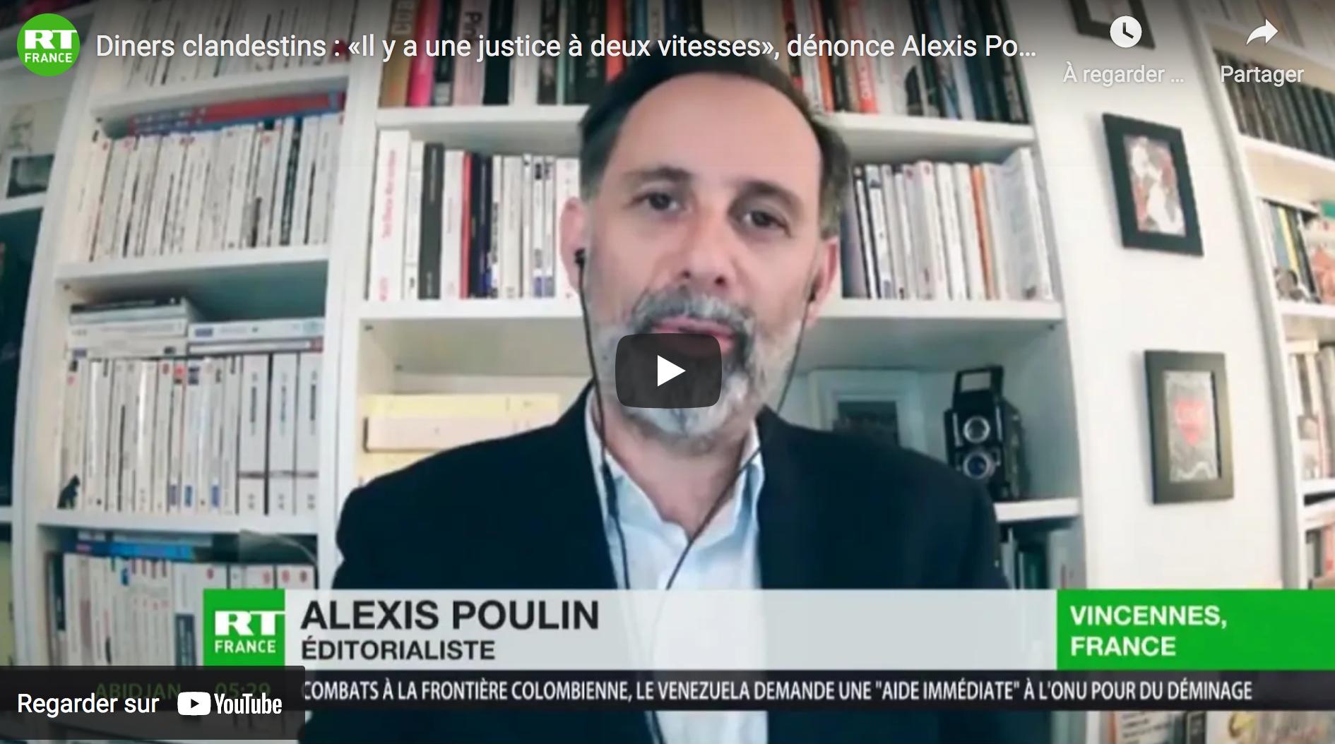 Diners clandestins : « Il y a une justice à deux vitesses », dénonce Alexis Poulin (VIDÉO)
