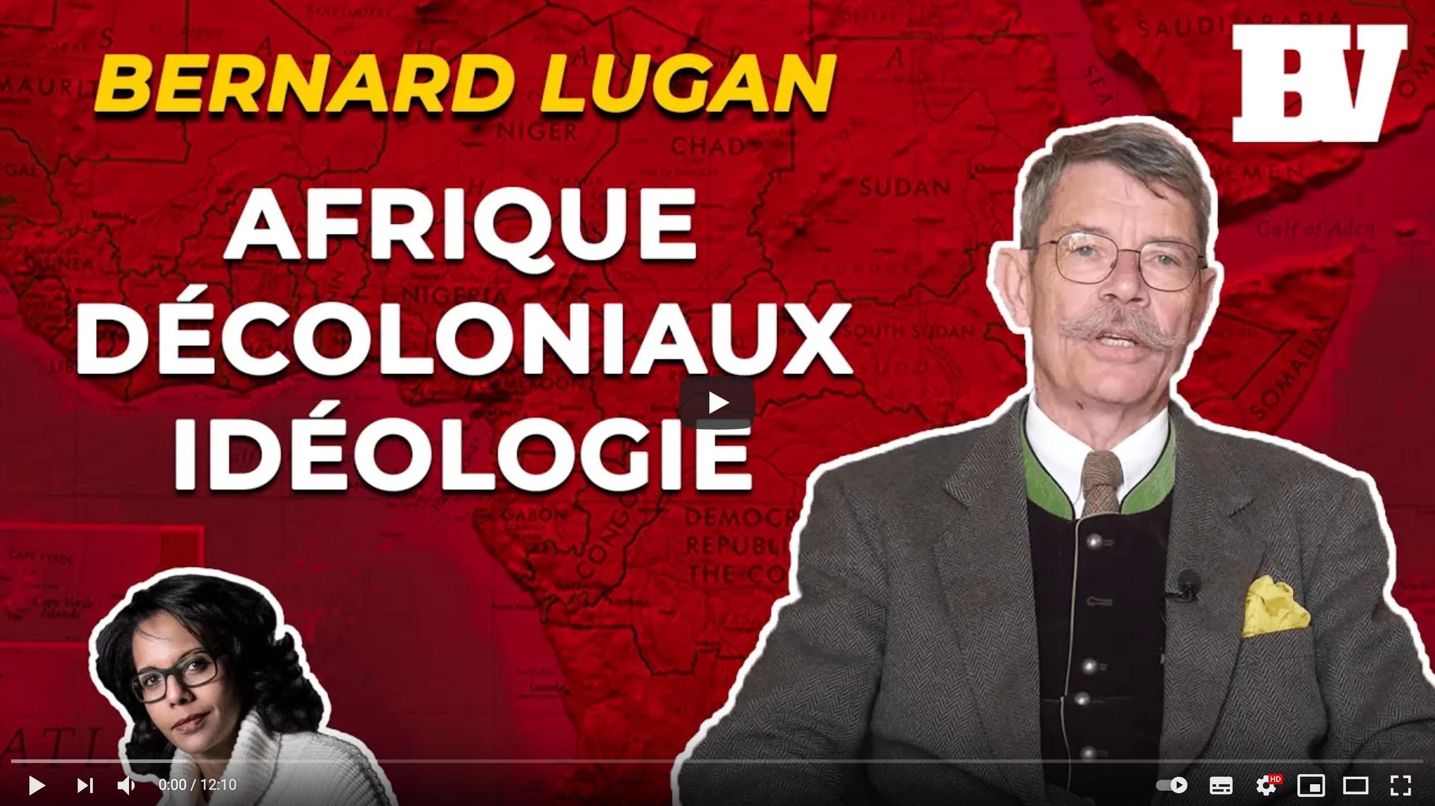 L'Africaniste Bernard Lugan règle ses comptes avec les décoloniaux (VIDÉO)