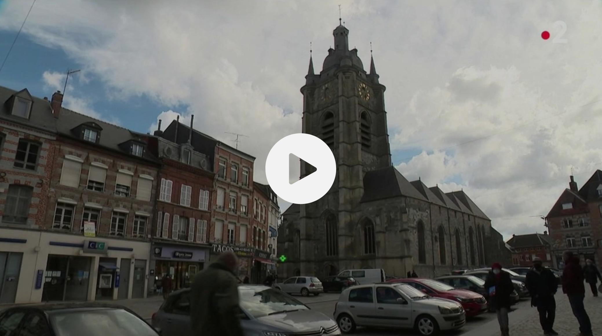 Nord : la piste criminelle privilégiée après l'incendie dans la collégiale d'Avesnes-sur-Helpe