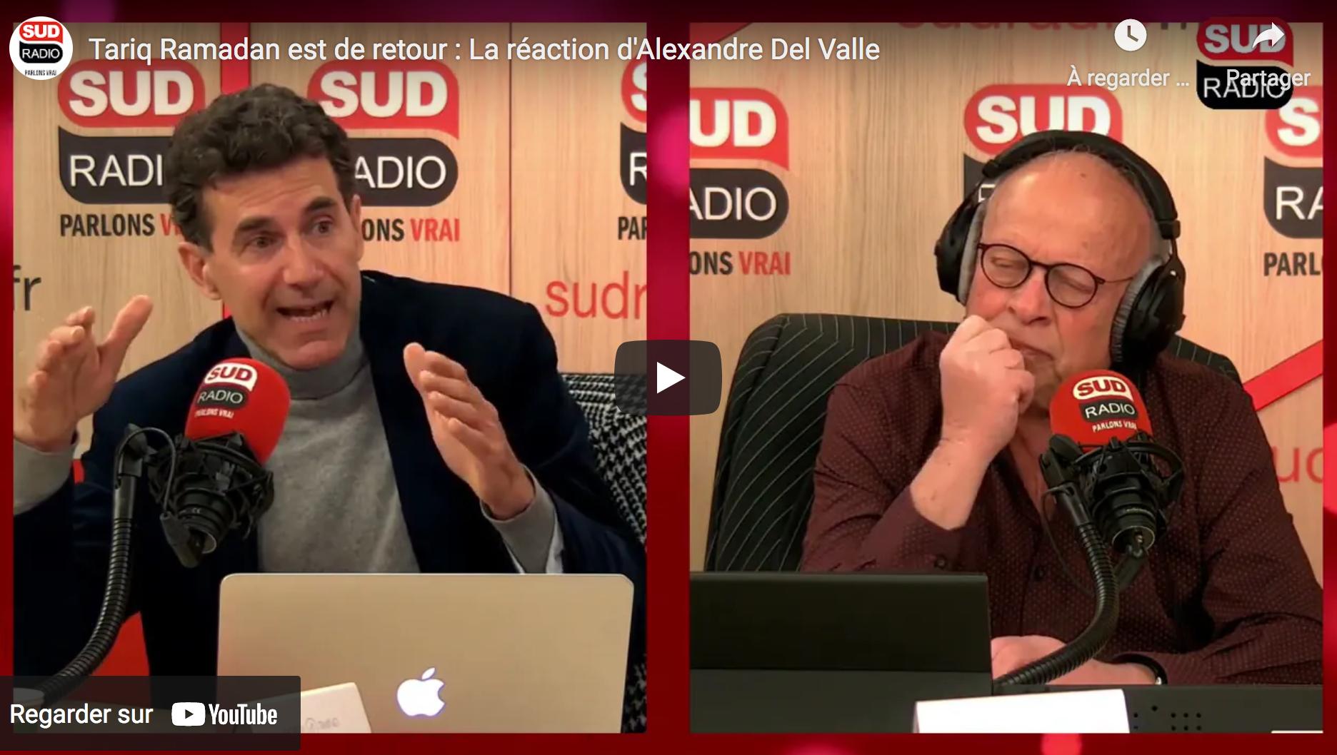 Tariq Ramadan est de retour pour s'en prendre à l'Occident : La réaction d'Alexandre Del Valle (AUDIO)
