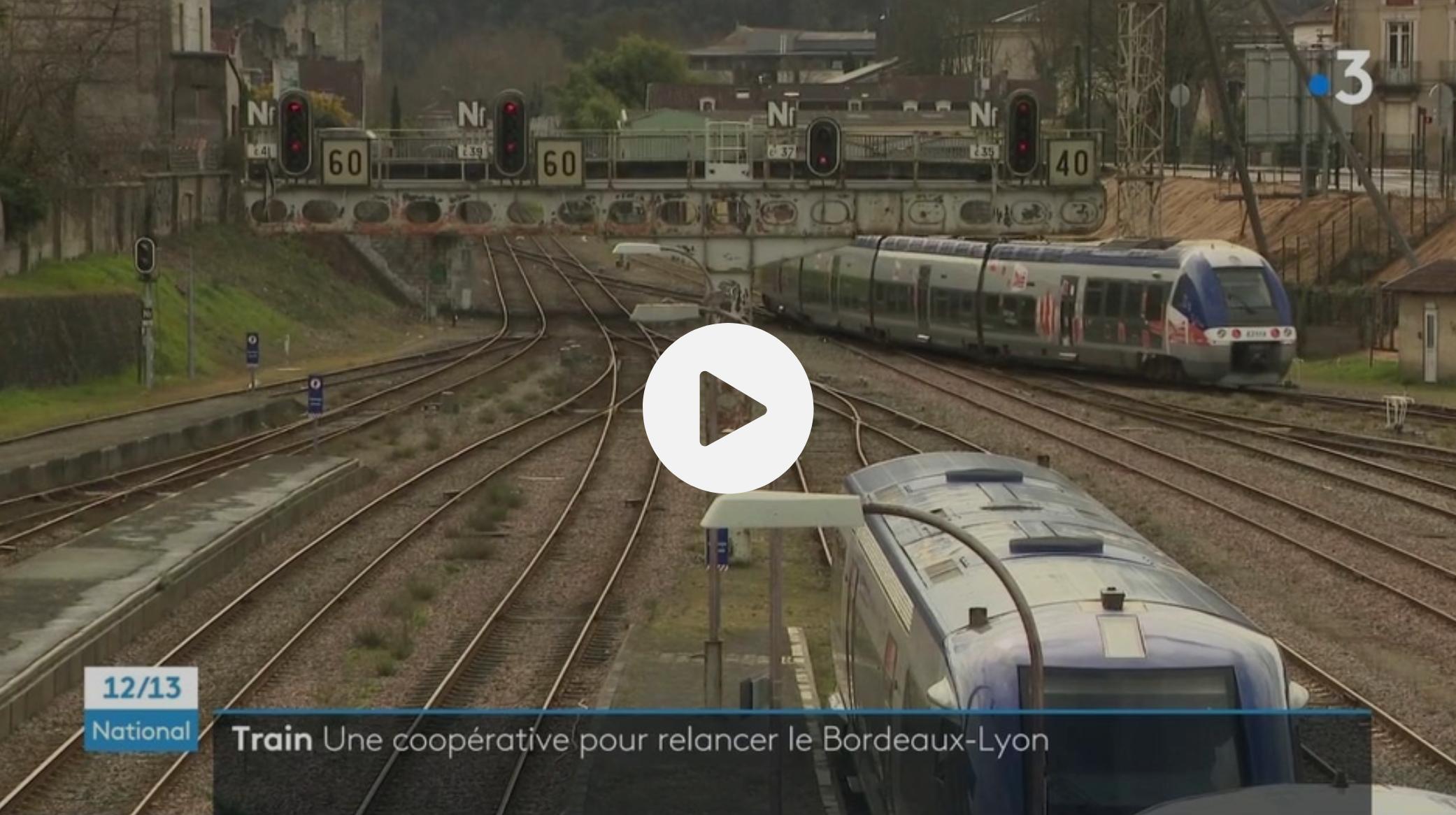 Transports : la ligne ferroviaire Lyon-Bordeaux sur le point de renaître grâce au privé, la CGT furieuse (VIDÉO)
