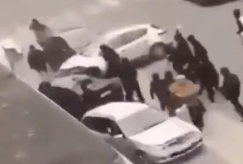 Scène de guerre civile à Liège (Belgique) : Ça mitraille à la kalach' en pleine rue (VIDÉOS)