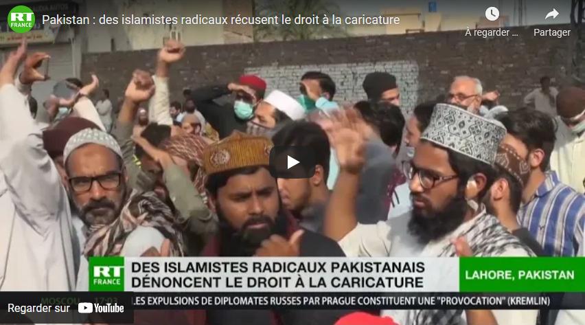 Pakistan : des islamistes radicaux récusent le droit à la caricature