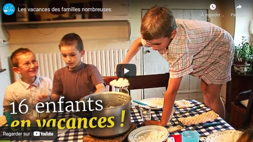 Vacances de familles nombreuses (DOCUMENTAIRE)