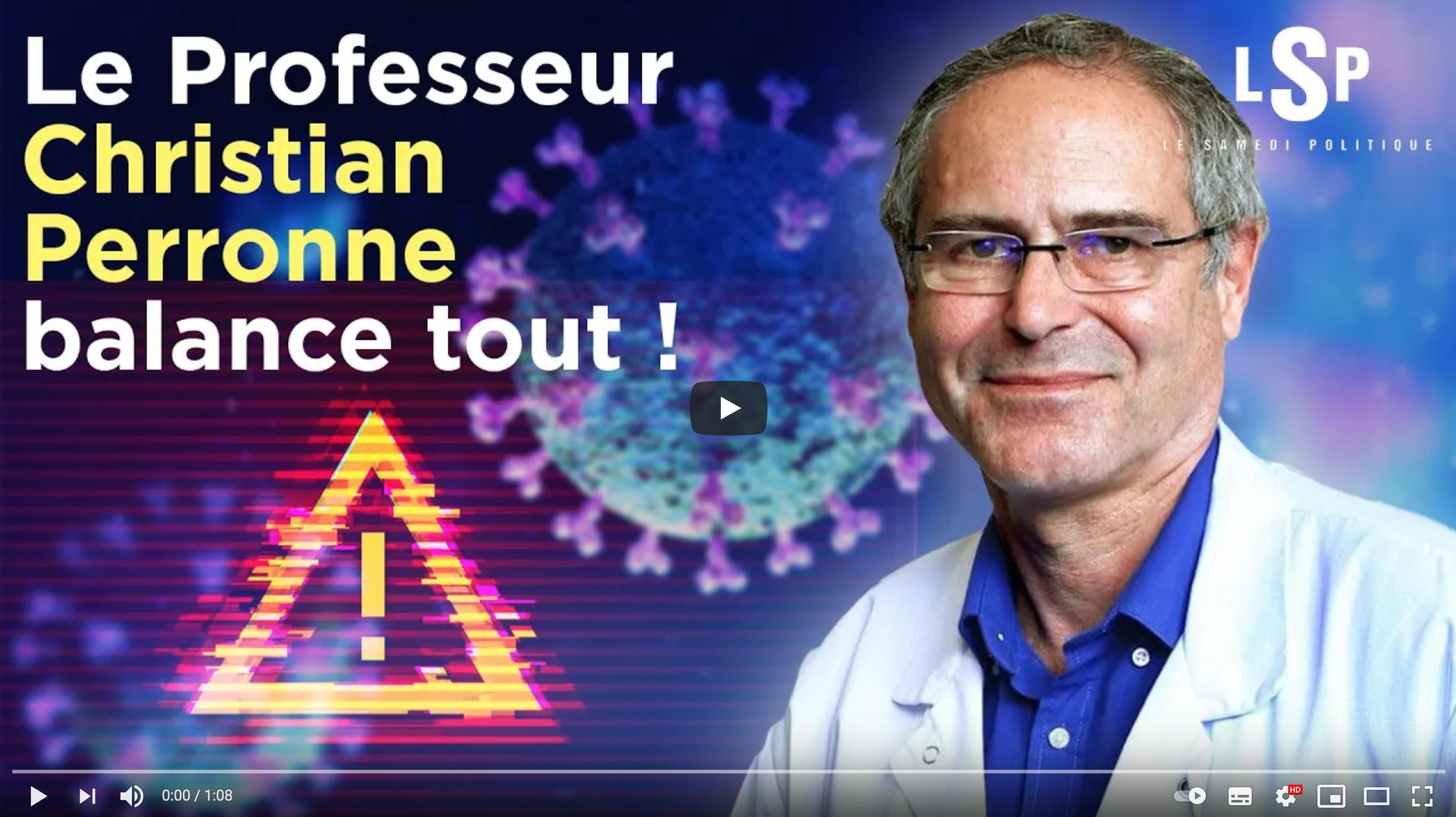 """Covid-19 : """"C'est du terrorisme qu'on impose aux Français !"""" (Pr Christian Perronne)"""