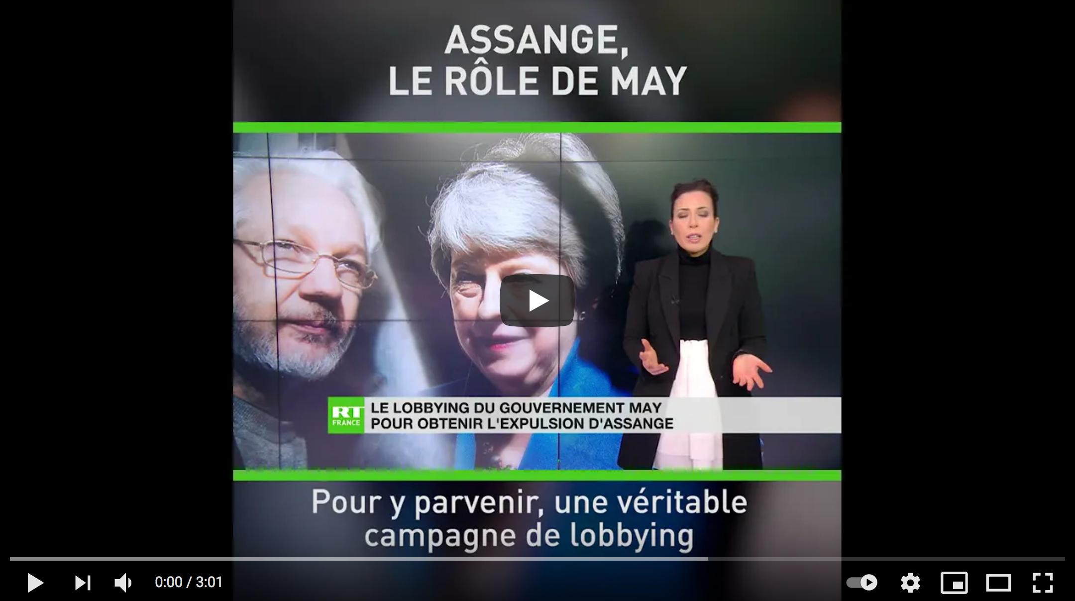 Julian Assange : le lobbying de Theresa May pour obtenir l'expulsion du fondateur de WikiLeaks