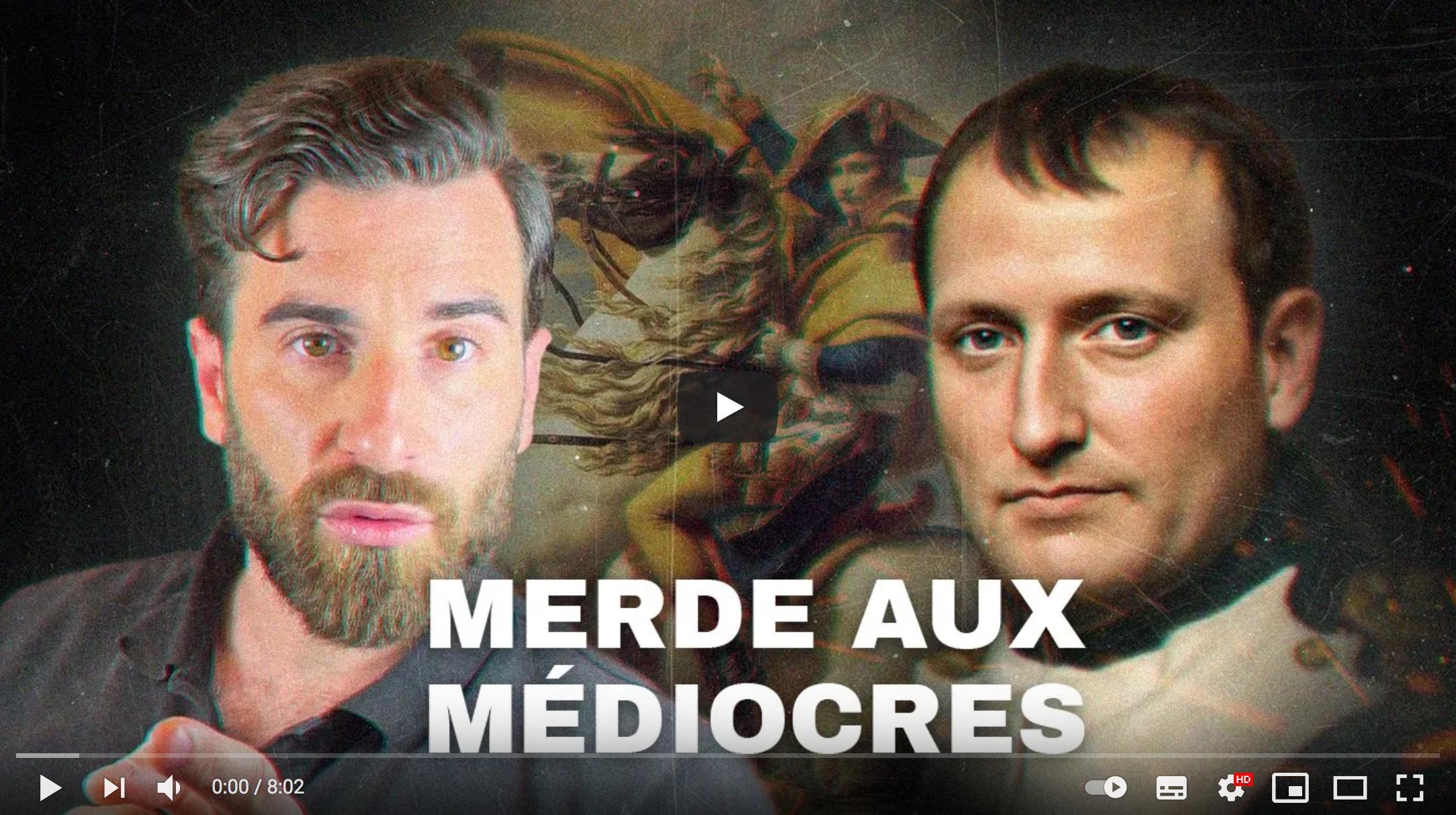 """""""Vive l'Empereur !"""" (Julien Rochedy)"""