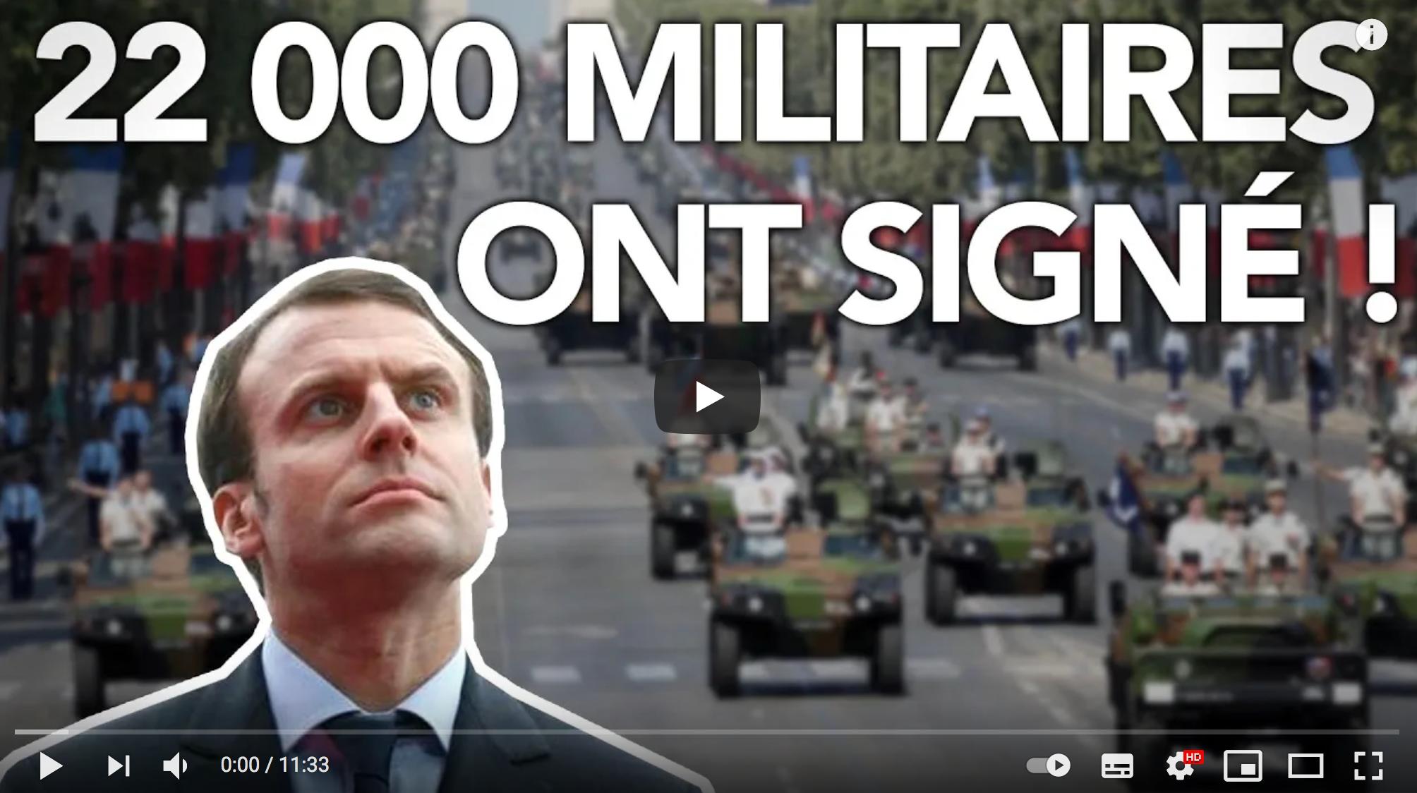Militaires : il se passe quelque chose d'incroyable ! (Florian Philippot)