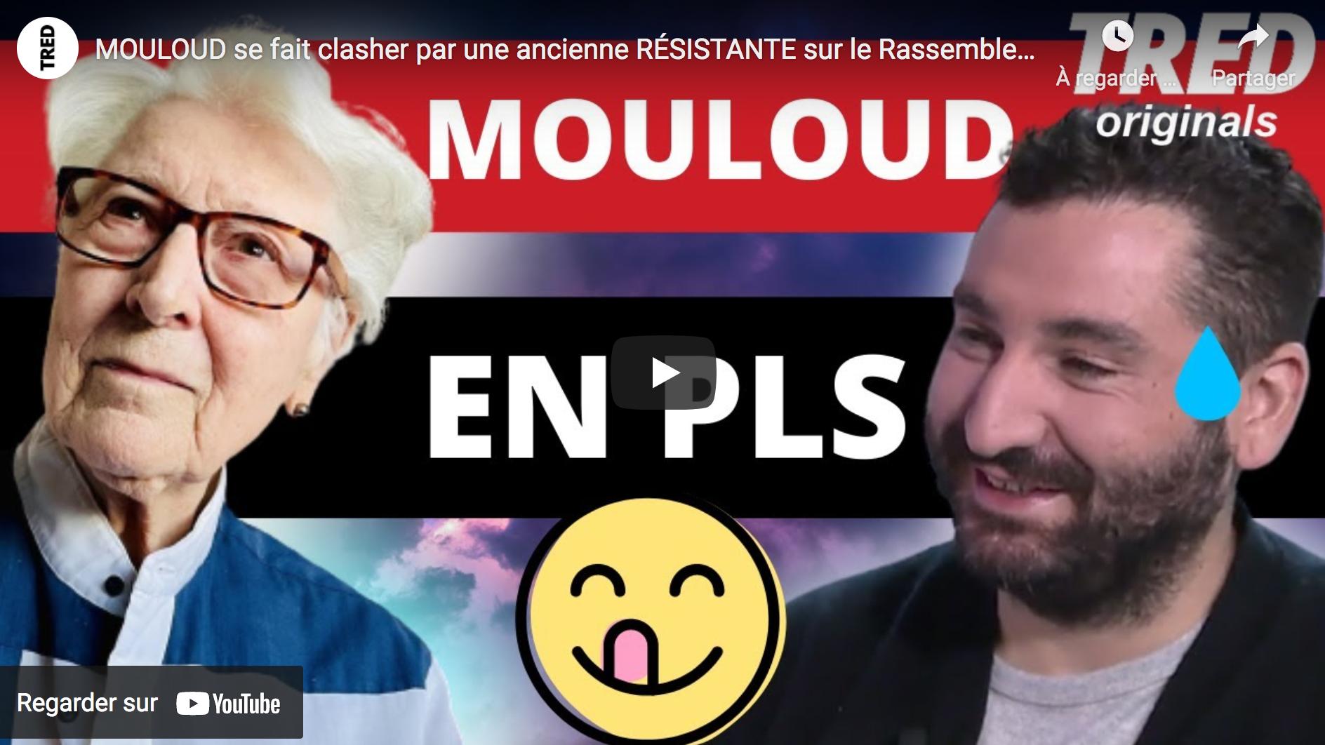 Le militant indigéniste Mouloud Achour se fait clasher par Colette Marin-Catherine, une ancienne résistante sur le Rassemblement National 😂 (VIDÉO)