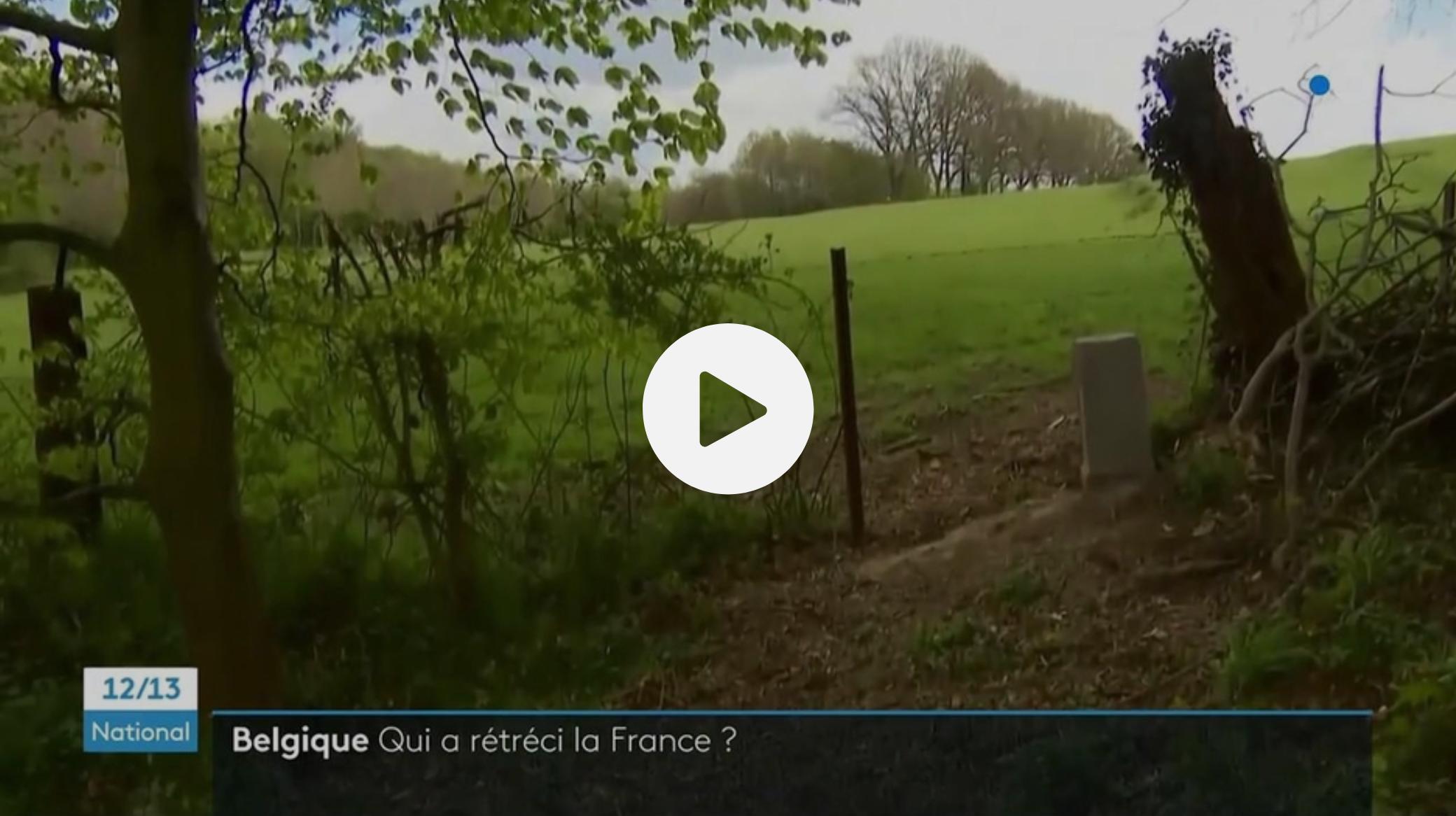 Belgique : la frontière avec la France repoussée à cause d'une borne déplacée