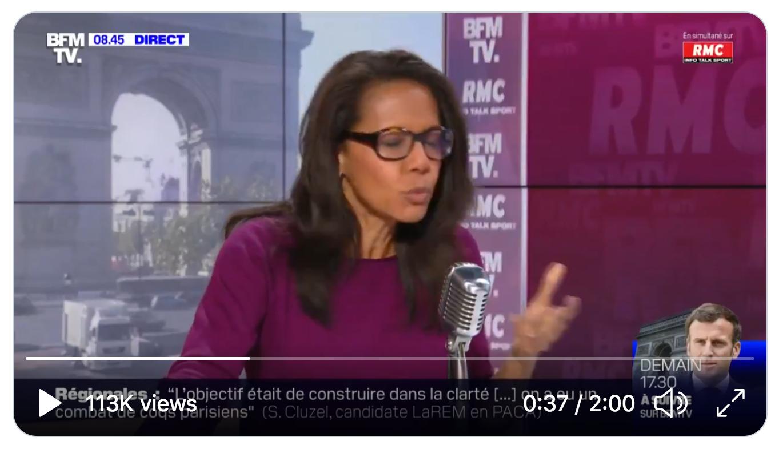Selon Audrey Pulvar, la montée du RN est directement liée au réchauffement climatique… (VIDÉO)